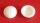 Plattkopfkappen 10,5/14,5 mm Weiss