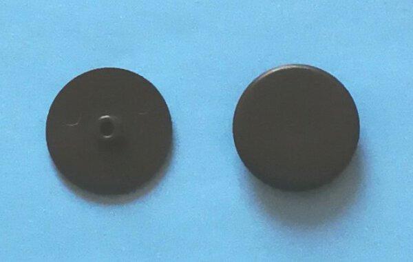 Abdeckkappe Exzentergehäuse 15 mm PZ/SW4 Schwarz