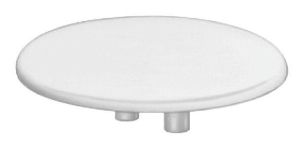 Abdeckkappen Exzentergehäuse 25 mm weiss