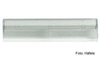 Beschriftungsclip 57 mm Kunststoff transparent