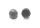 Sechskantschutzkappe aussen rund M5/SW8 Schwarz