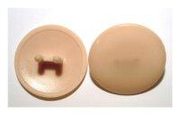 Abdeckkappen Exzentergehäuse 25 mm Eiche hell