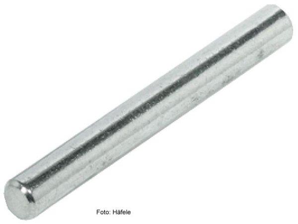 Bodenträger Stahl vernickelt 5x45 mm