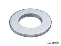 Unterlegscheibe DIN 125 Stahl verzinkt 5,3x10 mm