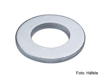 Unterlegscheibe DIN 125 Stahl verzinkt 6,4x12,5 mm
