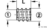 Eindrehmuffe mit Schraubschlitz verzinkt M4/8,0x8,0 mm