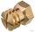 Spreizmuffe Messing M6/10,0x13,0 mm