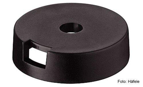 Gleiter-Basiselement Kunststoff schwarz 25 mm