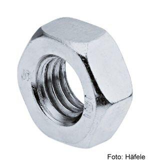 Sechskantmutter Stahl verzinkt M5