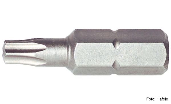 Bit TX20 - 1/4 Zoll 25 mm Außensechskant