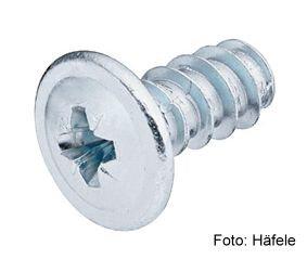 Blendenbefestigungsschraube Kopf-ø 13 mm PZ verzinkt 6,2x19,0 mm