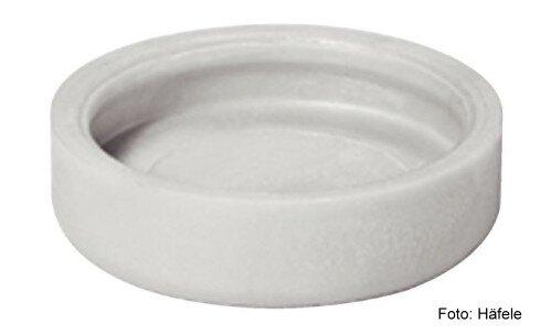 Gleiter-Einsatz für Teppich, Kork, Linoleum Kunststoff grau D=17 mm