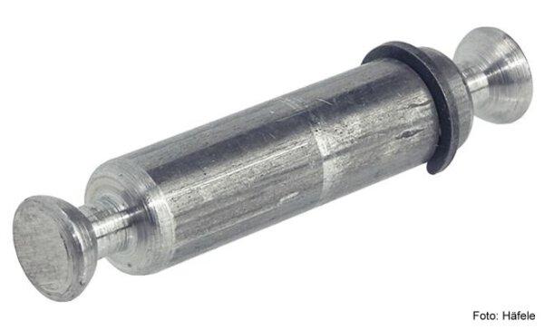 Doppelbolzen Rafix 20 mit Seegerring verzinkt 8/19 mm