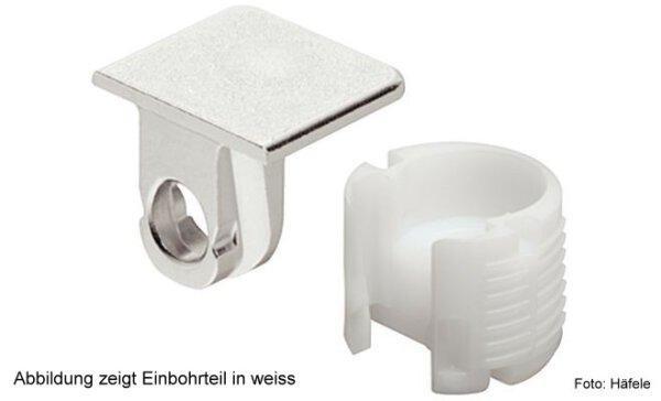 Tablarverbinder Tab 18/19 mm ohne Verriegelung zum Schrauben