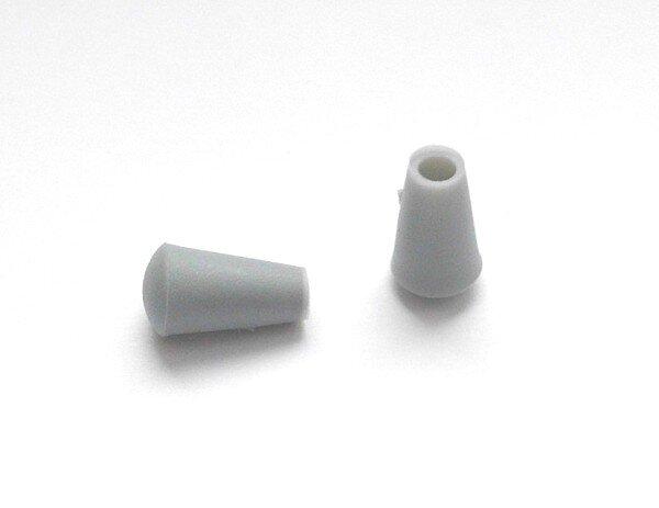 Abschlusskappen für Rundrohr-Aussendurchmesser 16 mm schwarz