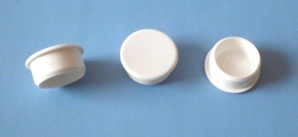 Abdeckkappe 20/23 mm Schaftlänge 10 mm Weiss