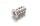 Euroschraube 6,3x11 kleiner Senkkopf PZ vernickelt
