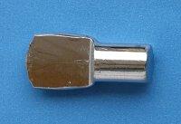 Bodenträger 7 mm vernickelt