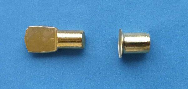 Bodenträger 7 mm mit Hülse vermessingt