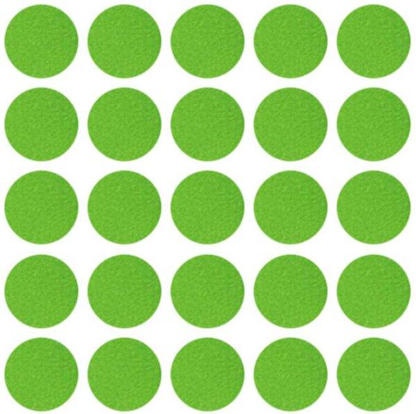 Abdeckkappen selbstklebend Limette grün