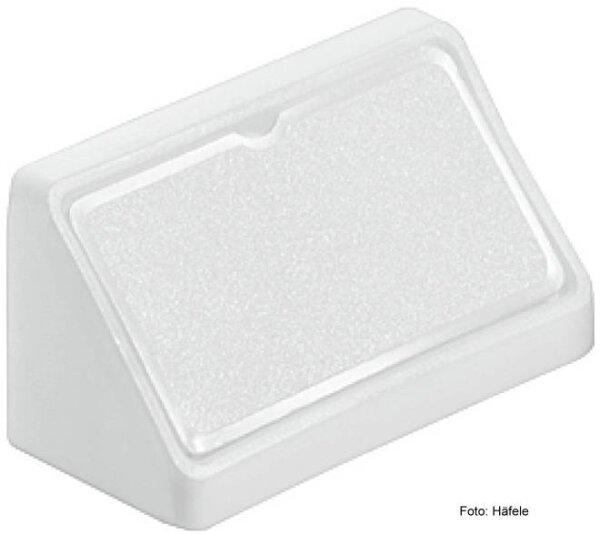 Universal Eckverbinder mit Kappe 44 mm Weiß
