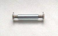Verbindungsschraube 36-42 mm 3-teilig vernickelt