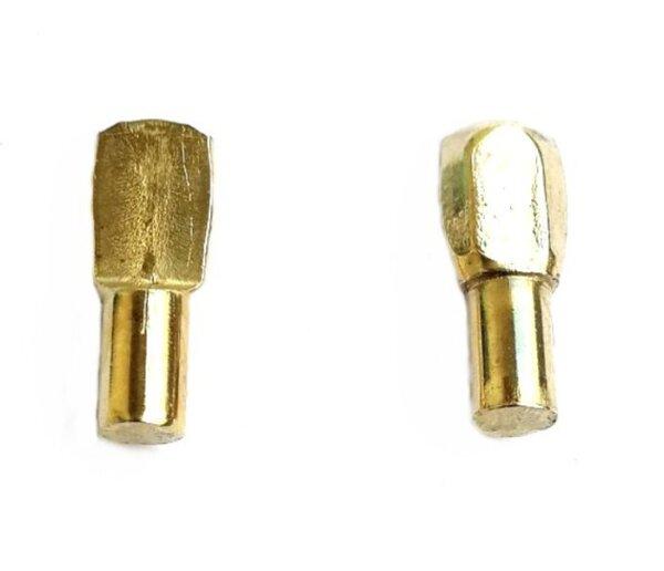 Bodenträger Löffelform 5 mm vermessingt