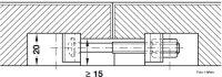 Arbeitsplattenverbinder 65 mm