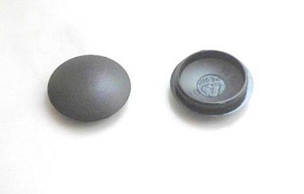 Abdeckkappe 20/23 mm Schaftlänge 3 mm Schwarz