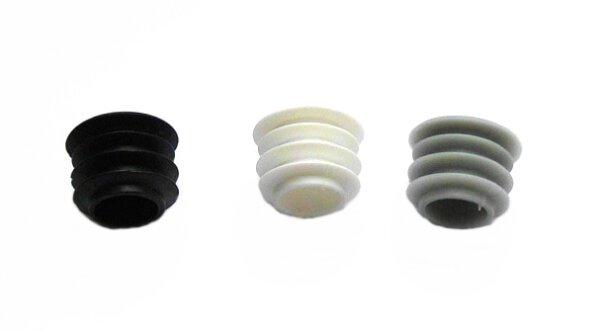 Lamellenstopfen rund Kopf Ø 20 mm für Innen-Ø 15,0-17,5 mm