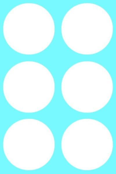 Abdeckkappen selbstklebend Ø 40 mm für Topfbohrung 35 mm