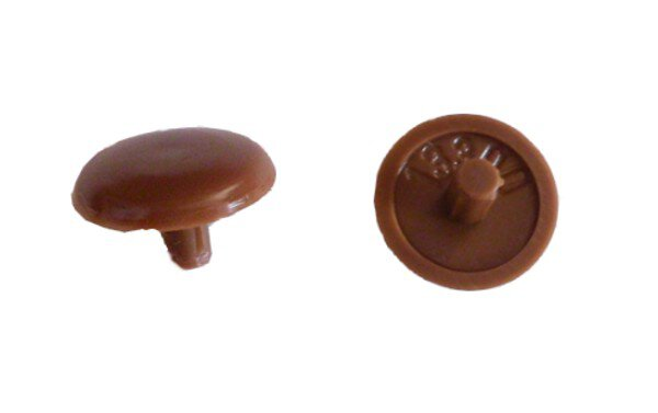 Abdeckkappe Kopflochschraube 3,0/15 mm Rehbraun